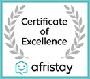 Lady Red has won a 2019 Certificate of Excellence!