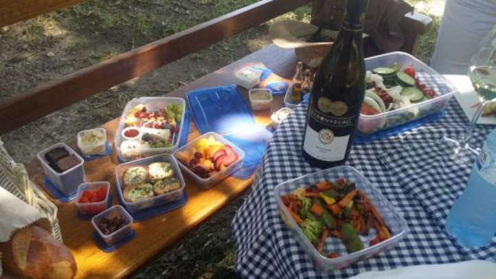 Couple's Picnic from Readers Restaurant, Tulbagh